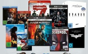 7 Tage Tiefpreise auf DVDs, 4K & 3D Blu-rays, Serien- & Filmboxen, Steelbooks uvm.