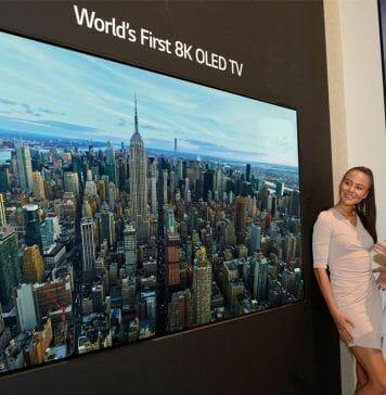 LG zeigt mit dem 8K OLED Prototyp, dass die OLED-Technik noch einiges zu bieten hat!