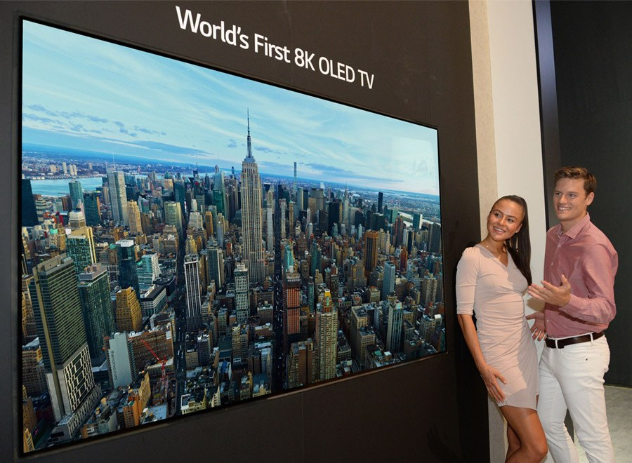 Erster 8K-OLED-TV der Welt auf der IFA zu sehen