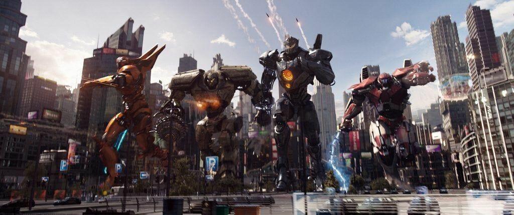 """Der Bedrohung stehen die """"Jäger"""" entgegen: Rießige Kampfroboter"""
