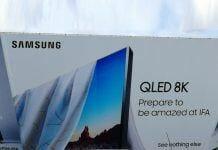 Samsung 8K QLED TV soll noch in diesem Monat auf der IFA vorgestellt werden.