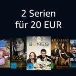 """Amazon feiert die """"Serientiefpreistage"""" inkl. der """"2 Serien für 20 Euro""""-Aktion"""