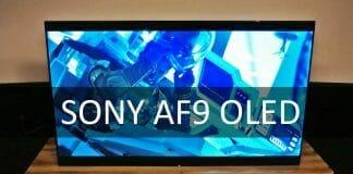 Sonys neuer AF9 4K OLED TV im Hands-On!