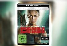 "Alicia Vikander spielt Lara Croft alias ""Tomb Raider"" - Test der 4K Blu-ray"