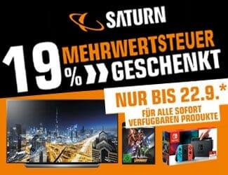 Saturn 19 Prozent Mehrwertsteuer