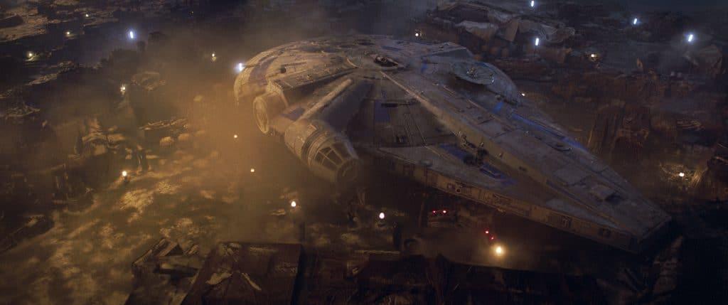 """Die Farbpalette bei """"Solo: A Star Wars Story"""" ist eingeschränkt, zu oft wird mit Filtern gearbeitet die die Detaildarstellung reduzieren"""
