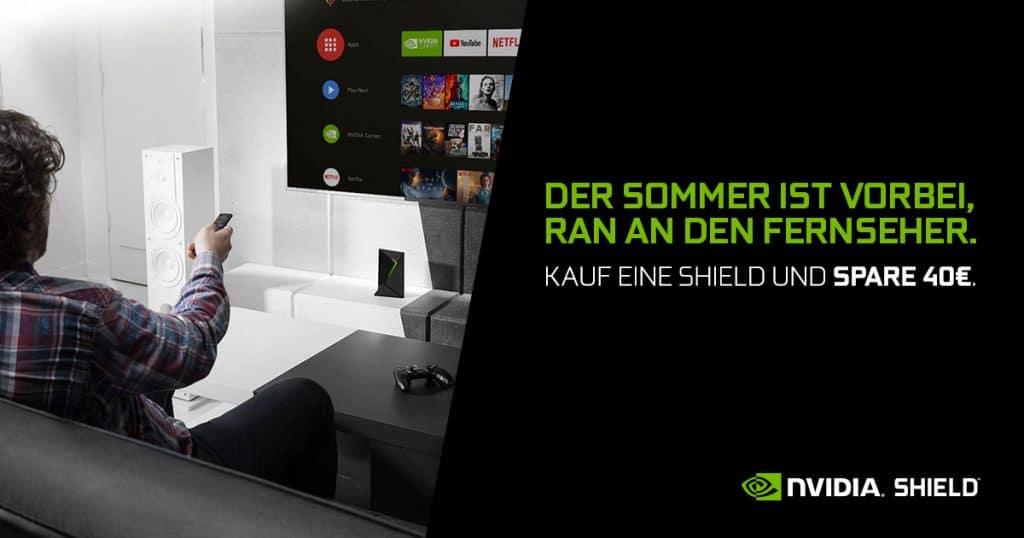Nvidia Shield Konsole 40 Euro günstiger bekommen