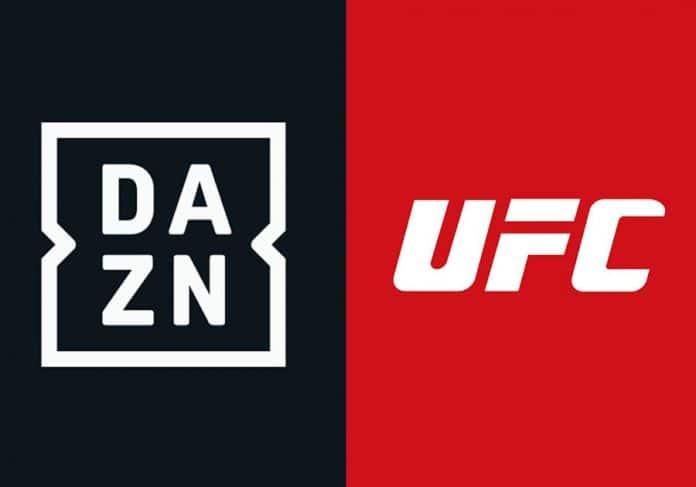 Die Ultimate Fighting Championships werden 3 Jahren exklusiv und live über DAZN zu sehen sein (nur DE + AT)