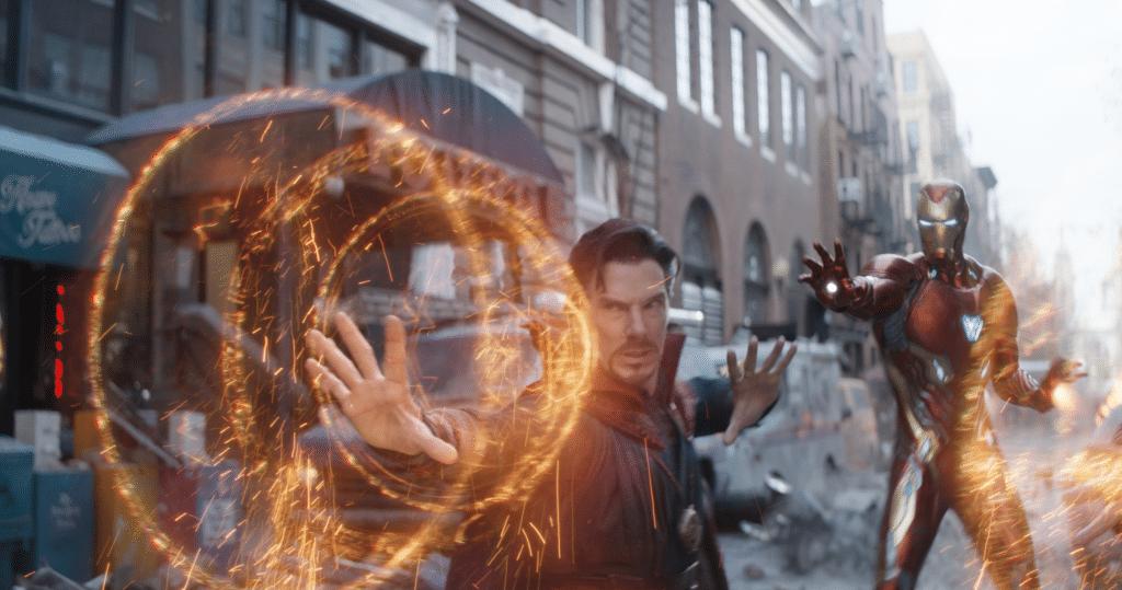 Dr. Strange und Iron Man sind mit von der Partie