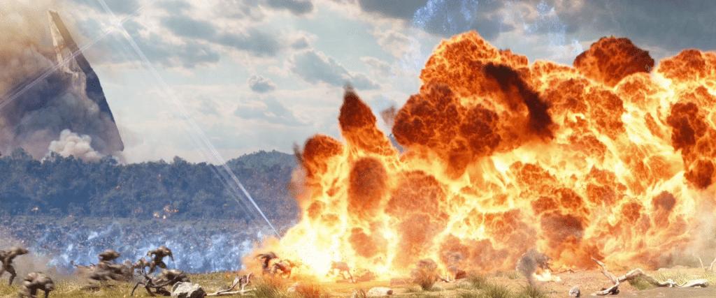 Explosionen und Bässe gibt es zu Hauf. Wenn man etwas an diesem Film auszusetzen hat, dann der Sound, der hinter seinen Möglichkeiten zurück bleibt