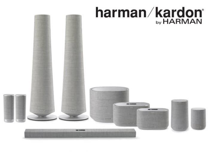 Das Harman / Kardon Citation Lineup besteht aus Soundbar, Tower- & Satelliten-Lautsprecher, Subwoofer sowie Smart Speaker und weitere Audio-Lösungen