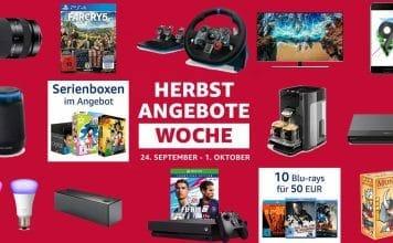 """Klasse Start in die """"Herbst Angebote Woche"""" von Amazon.de"""