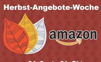"""Amazon Herbst-Angebote-Woche: Über 17.000 Blitzangebote und mehr als 200 """"Angebote des Tages"""" mit bis zu 50% Rabatt"""
