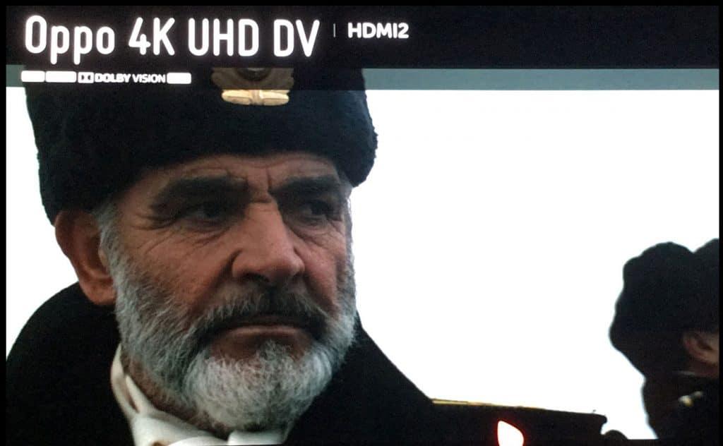 """Das Beweis-Foto: """"Jagd nach Roter Oktober"""" auf 4K Blu-ray mit Dolby Vision HDR"""