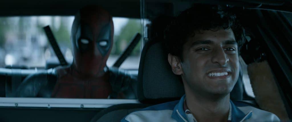 Dopinder, Deadpools Chauffeur und Seelenverwandter ist wieder mit von der Partie- nicht verwechseln mit Dope Inder