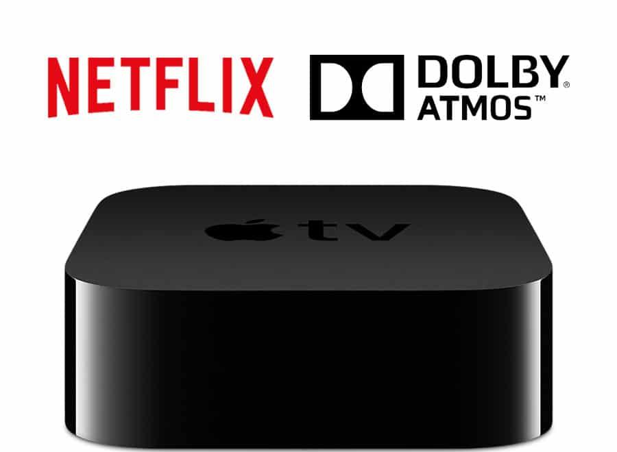 Auch Netflix unterstützt Dolby Atmos 3D Sound auf Apple TV 4K - 4K Filme