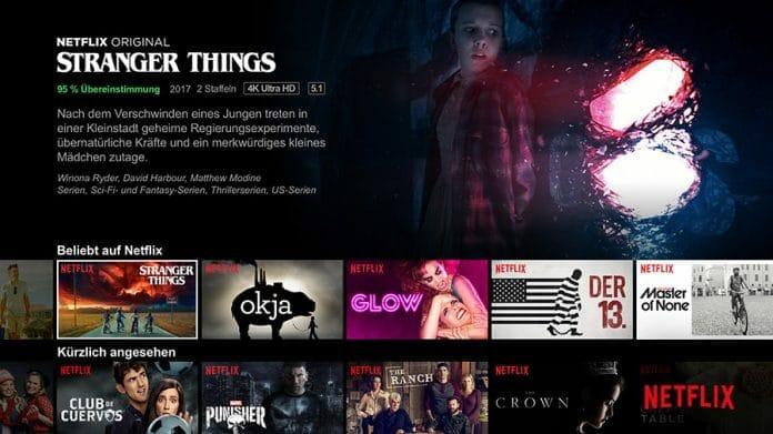 Netflix verschönert sein Menü mit HDR - Erste Hinweise auf AV1 Codec