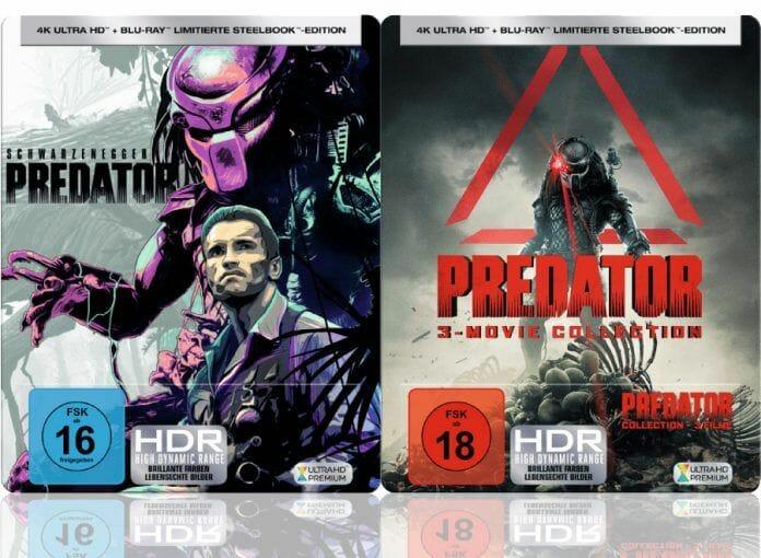 Steelbooks kommen bei der Filme-Community immer gut an, auch bei 4K Blu-rays
