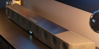 Sennheiser versucht sich bei seinem Ambeo Soundbar gleich an Dolby Atmos