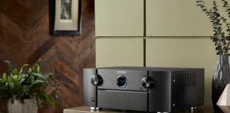 Der High-End-AV-Receiver SR7013 von Marantz