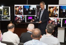 Vortrag während dem TV-Shootout im letzten Jahr    Bildquelle: Value Electronics