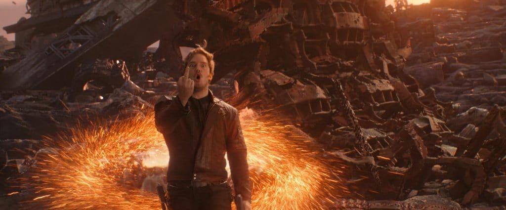 Typisch Starlord... das Aufgebot an Superhelden war nie größer. Der Film ist einfach große Klasse