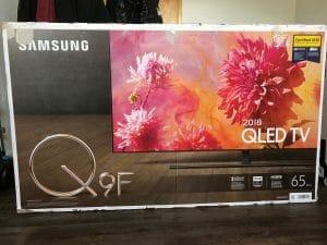 "Willkommen in unserem ""Testlabor"" - Samsung Q9FN QLED TV (LED-LCD) mit 65 Zoll (165 cm)"