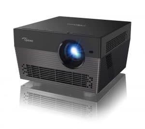 Der Optoma UHL55 4K-LED-Projektor in voller Pracht.