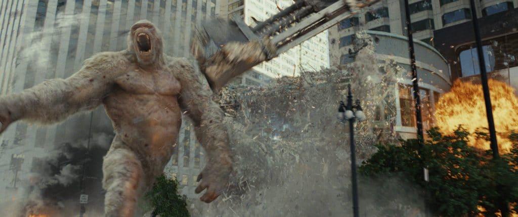 """Die visuellen Effekte und das CGI in """"Rampage: Big meets Bigger"""" rocken ganz schön"""