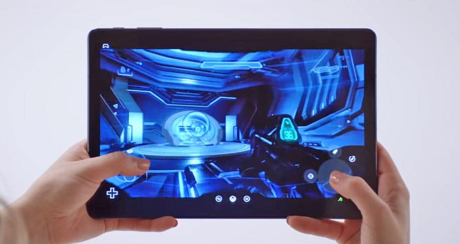 Halo 5 Guardian auf einem Android Tablet via Touch-Controls