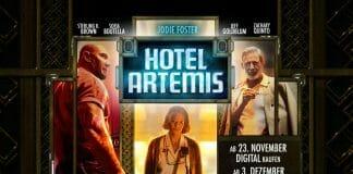 Hotel Artemis erscheint auf DVD, Blu-ray und 4K UHD Blu-ray (VÖ: 03. Dezember 2018)
