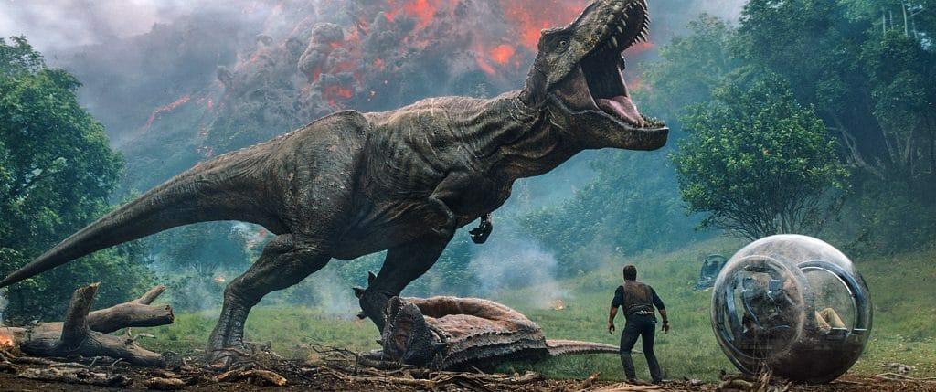 Er darf bei keinem Jurassic-Film fehlen: T-Rex