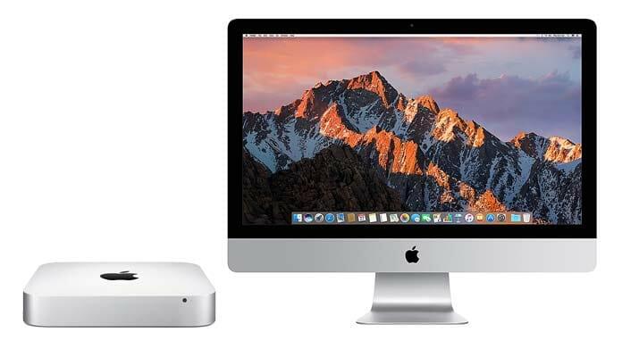 Letzte Chance für den Mac Mini auf ein Update. Eine neue 2018-Version des iMac ist da schon wahrscheinlicher