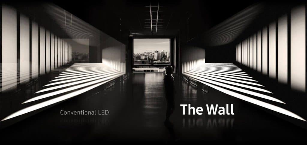 Die einzeln ansteuerbaren LED-Pixel liefern einen perfekten Schwarzwert und einen extrem breiten Kontrast