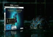 """Unsere 4K Blu-ray Review zu """"Shape of Water: Das Flüstern des Wassers"""""""