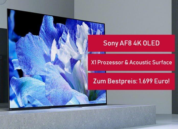 Den Sony AF8 4K OLED gibt es im MediaMarkt Flyer zum Bestpreis von 1.699 Euro!