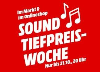 In der Sound-Tiefpreis-Woche von MediaMarkt gibt es alles was mit dem guten Klang zu tun hat zum kleinen Preis