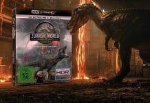 Jurassic World 2: Das gefallene Königreich überzeugt im 4K Blu-ray Test mit bester Bild- & Tonqualität. Jedoch die Story...