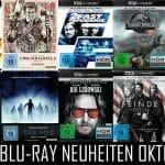 UHD Blu-ray Neuheiten im Oktober 2018