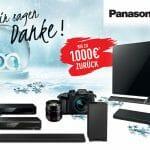 Bis zu 1000 Euro sparen: Winter-Aktion von Panasonic