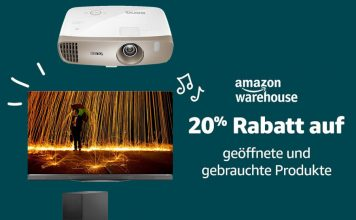 Technik & Co. zum absoluten Bestpreis mit 20% auf die Amazon Warehouse Deals
