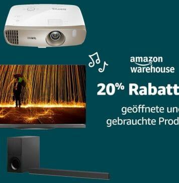 Technik & Co. zum absoluten Bestpreis mit 20% auf die Amazon Warehouse Deals