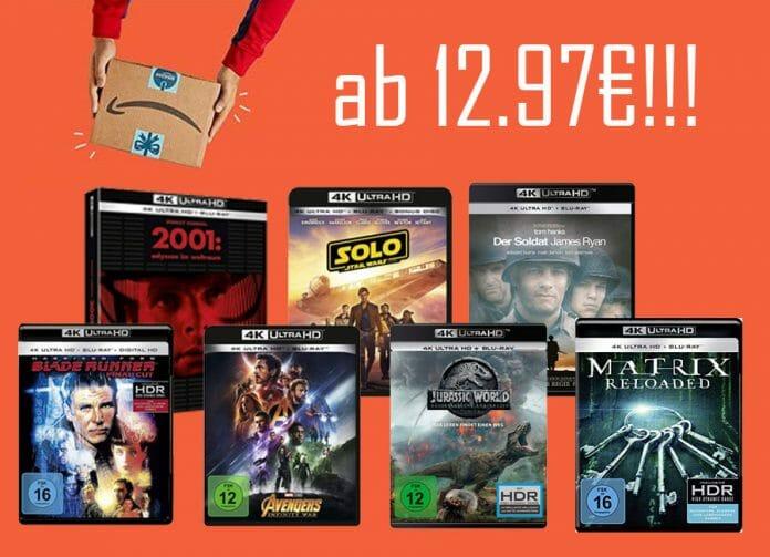 4K UHD Blu-rays ab 12.97 Euro! NUR HEUTE!