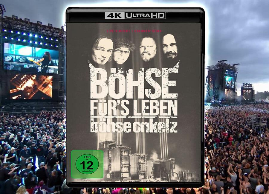 Böhse Onkelz Veröffentlichen Live Konzert Auf 4k Blu Ray 4k Filme