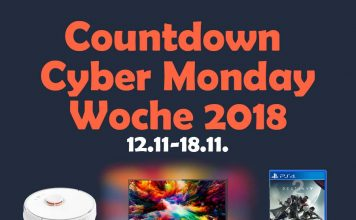 Alle Highlight Angebote des Cyber Monday Week Countdown vom 12.11.