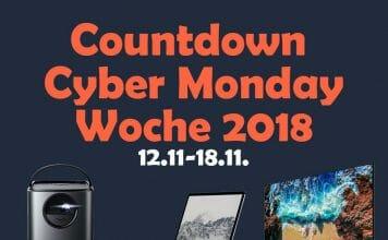 Highlight Angebote zur Cyber Monday Woche am Freitag!