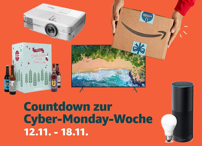 Amazon: Countdown-Angebote für Cyber-Monday-Woche (Tag 2)