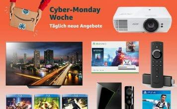 Der erste Tag der Cyber Monday Woche beginnt mit Mega-Angeboten!