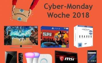 Tag 3 der Cyber Monday Woche mit reduzierten 4K TVs, PS4 Konsolenbundles uvm.