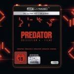 """Die drei restaurierten Predator-Filme inkl. dem neuen Kinofilm """"Predator Upgrade"""" in einer 4K Blu-ray Collection"""